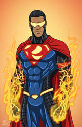 Eradicator (Earth-27) commission by phil-cho