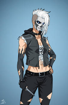 Silver Banshee (Earth-27) commission