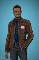 Ron Troupe (Earth-27) commission by phil-cho