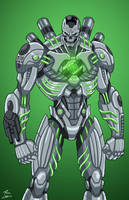 Metallo (Earth-27) commission by phil-cho