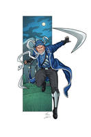 Captain Boomerang commission by phil-cho