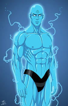 Dr. Manhattan (Earth-27) commission by phil-cho