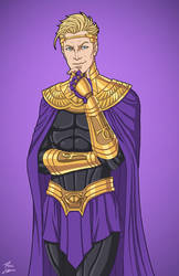 Ozymandias (Earth-27) commission by phil-cho