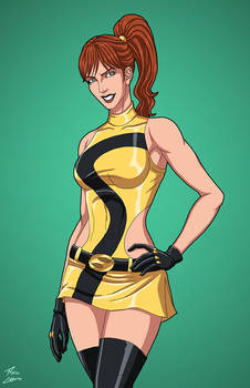 Silk Spectre 2.0 (Earth-27) commission