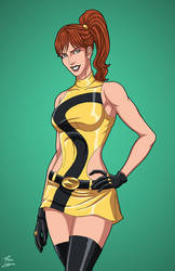 Silk Spectre 2.0 (Earth-27) commission by phil-cho