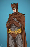 Nite Owl (Earth-27) commission by phil-cho