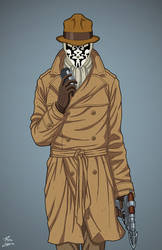 Rorschach (Earth-27) commission by phil-cho