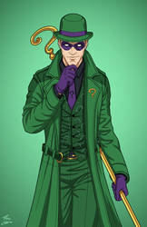 The Riddler (E-27: Enhanced) commission by phil-cho