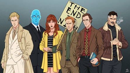 Watchmen Civilians by phil-cho