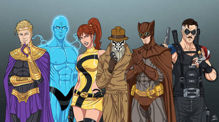 Watchmen Heroes by phil-cho