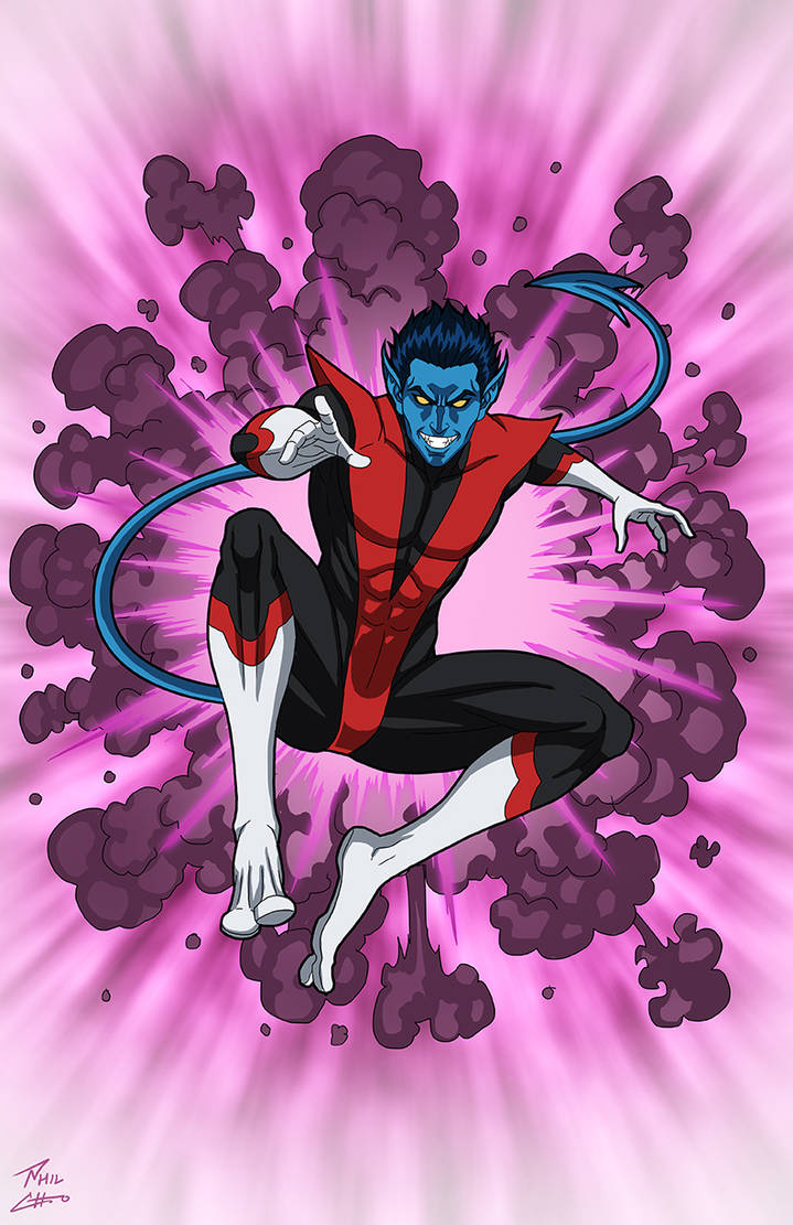 Nightcrawler commission by phil-cho