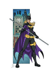Batgirl commission by phil-cho