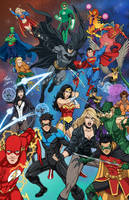 DC Heroes by phil-cho