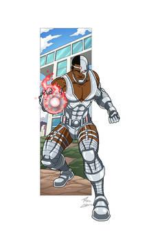 Cyborg commission