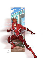 Wally West commission