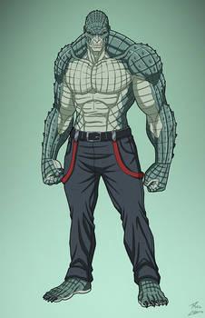 Killer Croc (E-27: Enhanced) commission