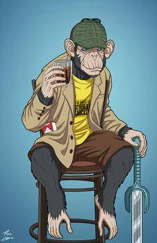 Detective Chimp (Earth-27) commission