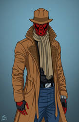 Spider-Rorschach commission