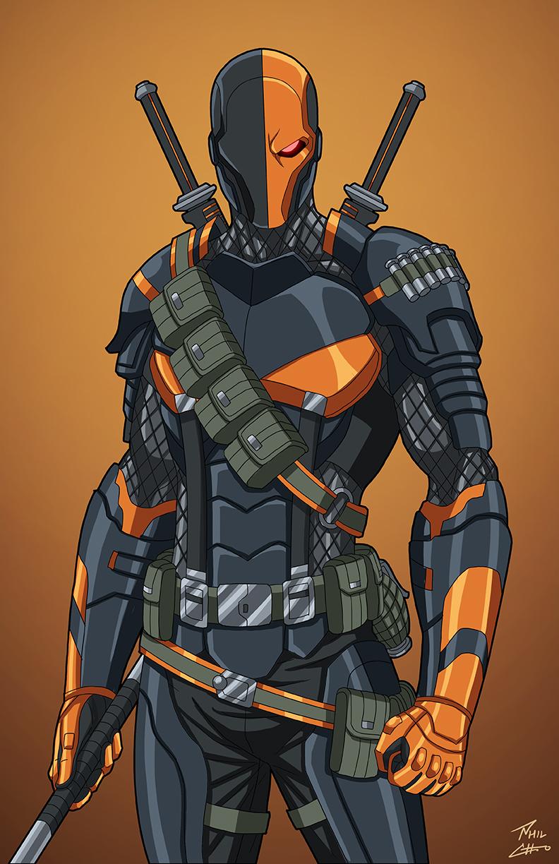 Deathstroke (E27: Enhanced) commission