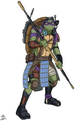 Donatello (Bayverse) commission