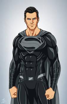 Superman Black Suit (#ReleaseTheSnyderCut)