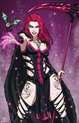 Mistress Allure OC commission