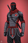 Foot Ninja (Earth-27) commission