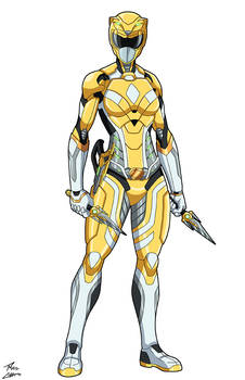 Yellow Ranger Melody commission