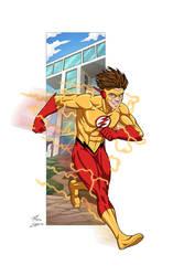 Kid Flash commission