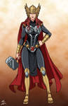 Black Widow Thor commission