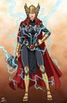 Black Widow Thor v.2 commission