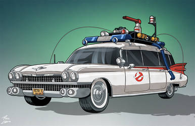 Ecto-1 (Earth-27) commission