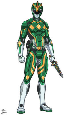 Green Ranger Colin commission