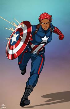 Captain America Harriet Tubman commission
