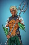 Aquaman Kaldur (Not Earth-27) commission