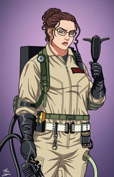 Abby Yates [Ghostbuster] (Earth-27) commission