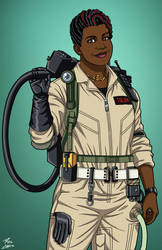 Patty Tolan [Ghostbuster] (Earth-27) commission