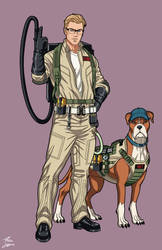 Kevin Beckman [Ghostbuster] (Earth-27) commission