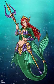 Battleready Ariel commission