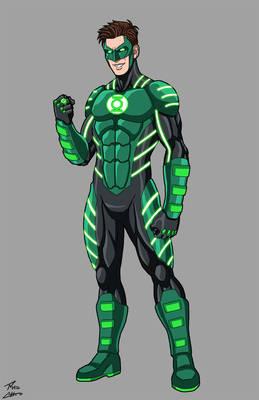 Green Lantern Horizon DC OC commission