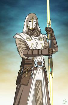 Jedi Temple Guard (Star Wars) commission