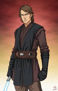 Anakin Skywalker (Star Wars) commission
