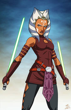 Ahsoka Tano (Star Wars) commission