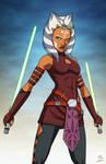 Ahsoka Tano (Star Wars) commission