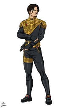 Captain James Blain - The Falcon commission