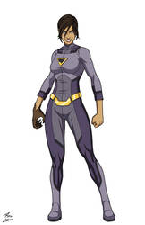 Wonder Twin Jayna commission