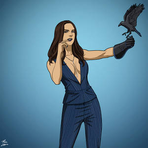 The Raven Woman (Earth-27) commission