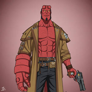 Hellboy [BRPD] (Earth-27) commission