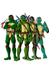 Teenage Mutant Ninja Turtles by phil-cho