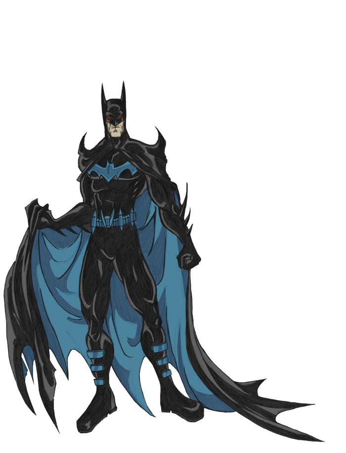 New Batman Design By Phil cho On DeviantArt